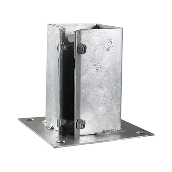 Stainless Steel Bolt Down Timber Post Support Base Plate /& Dowel Bar FREE DEL