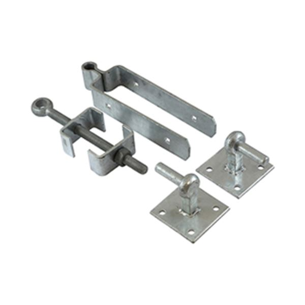 Picture for category Adjustable Fieldgate Hinge Set With Hook On Plate