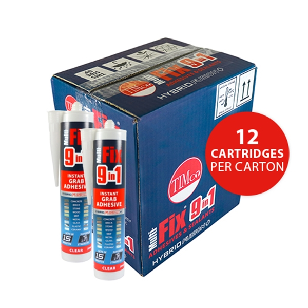 Picture of Multi-Fix 9 in 1 Instant Grab Adhesive - Clear