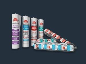 Silicone & Acrylic Sealants in Aluminium Foils